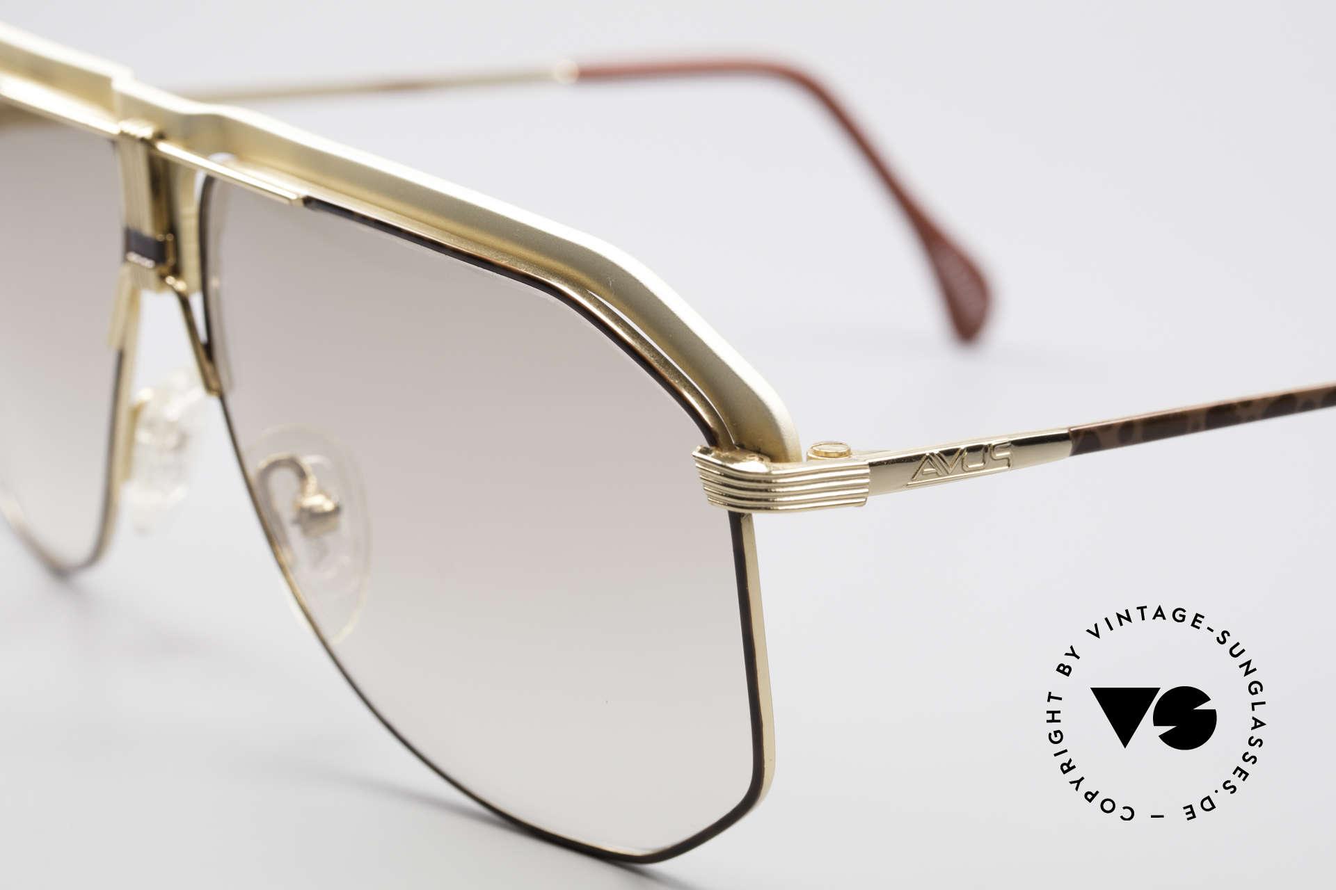 AVUS 2-130 Men's Luxury 80's Shades, outstanding craftsmanship (handmade W. Germany), Made for Men