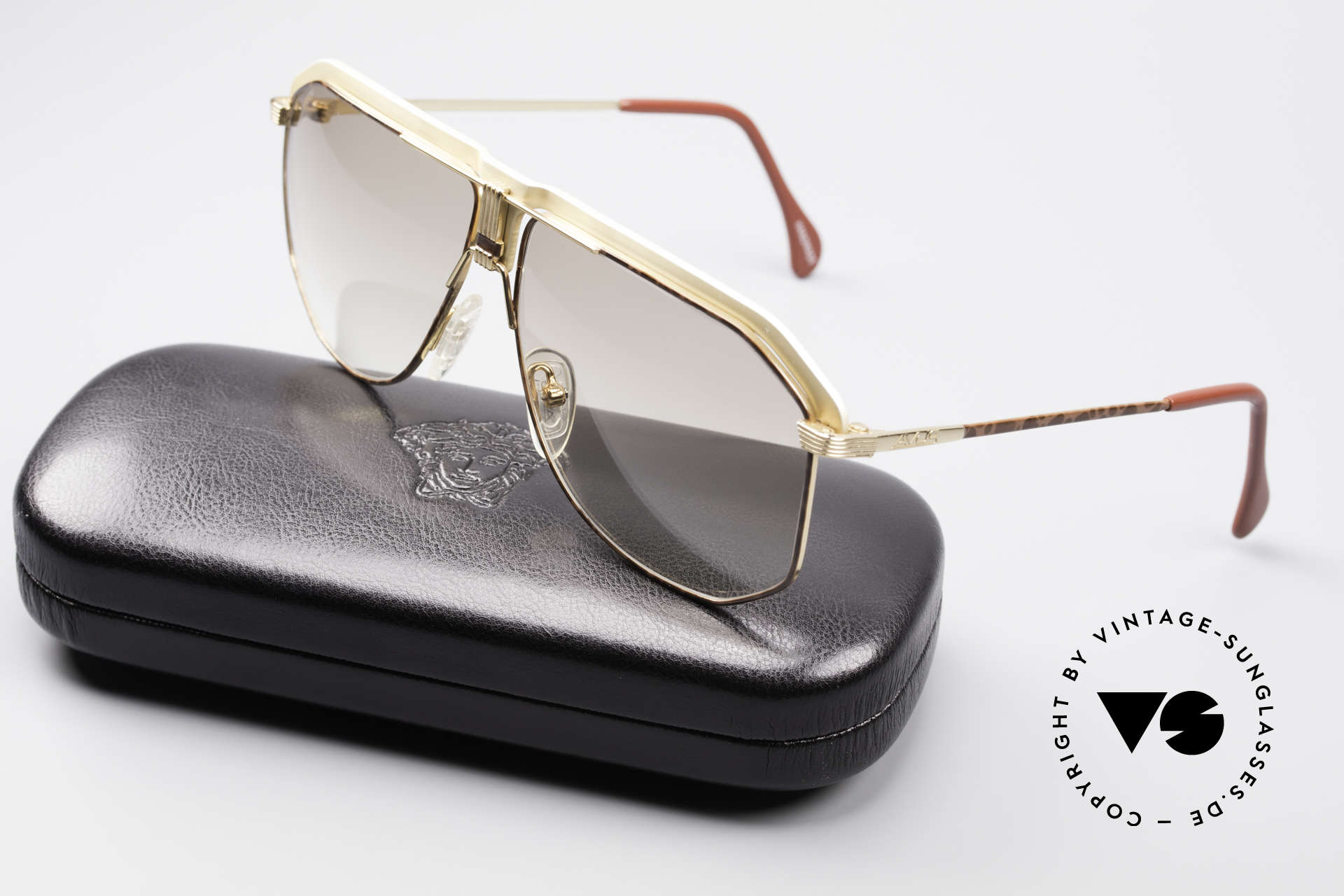 AVUS 2-130 Men's Luxury 80's Shades, never worn (like all our rare 80's AVUS sunglasses), Made for Men