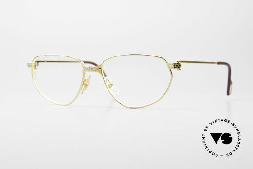 Cartier Panthere Windsor - L 90's Luxury Frame Details