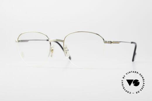 Cartier Colisee Round Luxury Platinum Frame Details