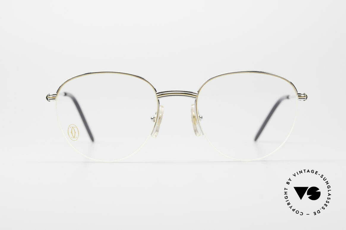 Cartier Colisee Round Luxury Platinum Frame