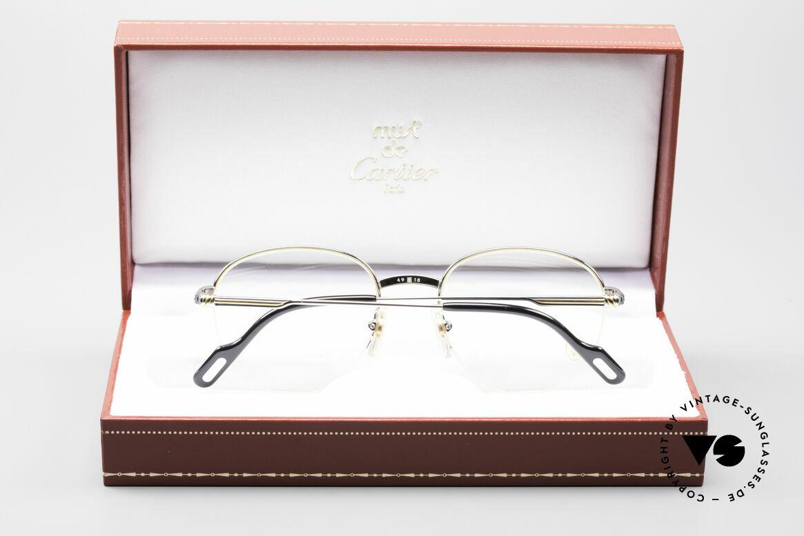 Cartier Colisee Round Luxury Platinum Frame
