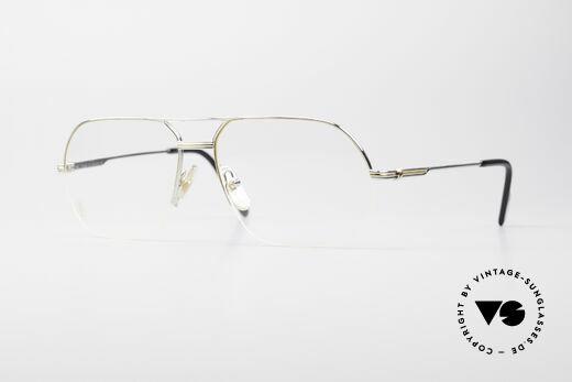 Cartier Orsay Luxury Platinum Eyeglasses Details