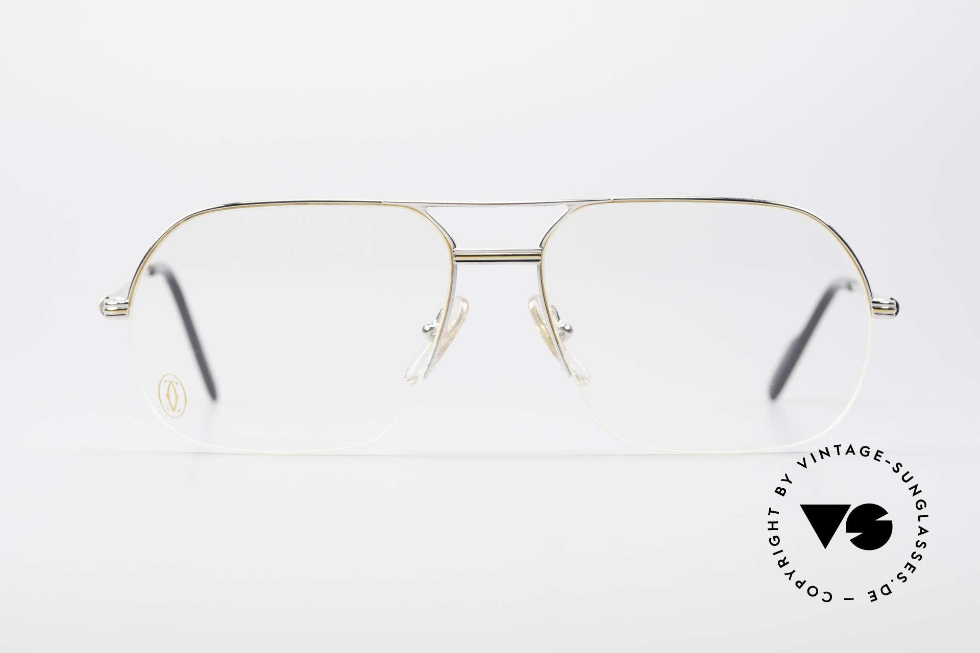 aca1a2733fb4 Glasses Cartier Orsay Luxury Platinum Eyeglasses