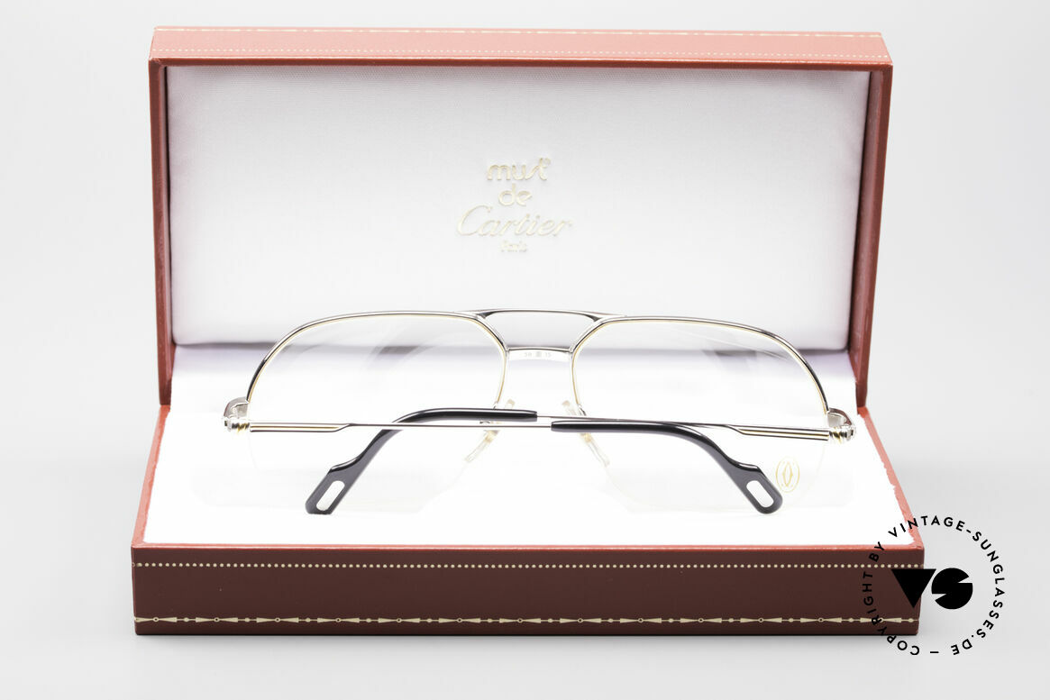 Cartier Orsay Luxury Platinum Eyeglasses