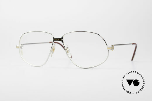 Cartier Panthere G.M. - L Rare Platinum Finish Frame Details