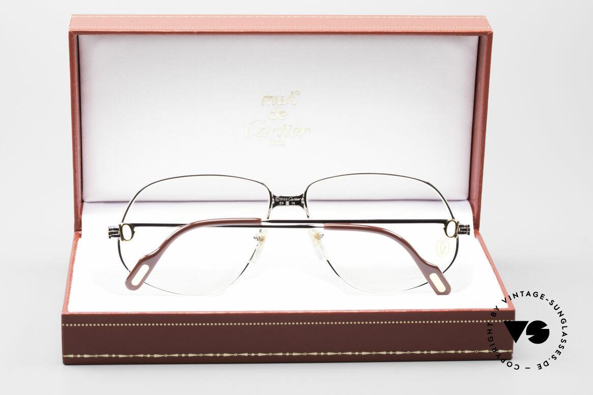 Cartier Panthere G.M. - L Rare Platinum Finish Frame