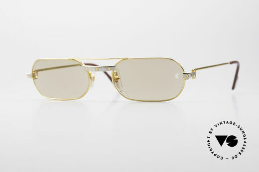 Cartier MUST Santos - M Elton John Shades Details