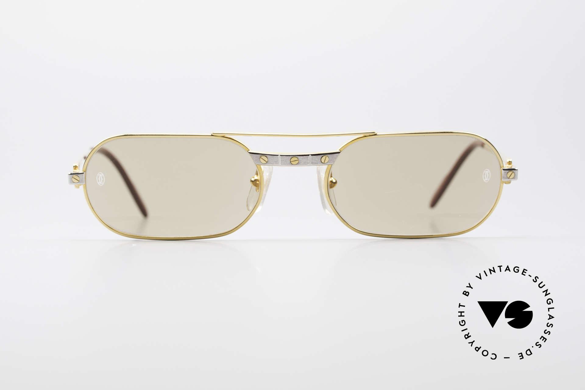 7938917c2c1 Cartier sunglasses Santos Dumont 61 16 T820081 48802 glasses Cartier  limited edition Source · Sunglasses Cartier MUST Santos M Elton John Shades  Vintage