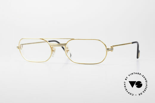 Cartier MUST LC Rose - M Limited Luxury Frame Details