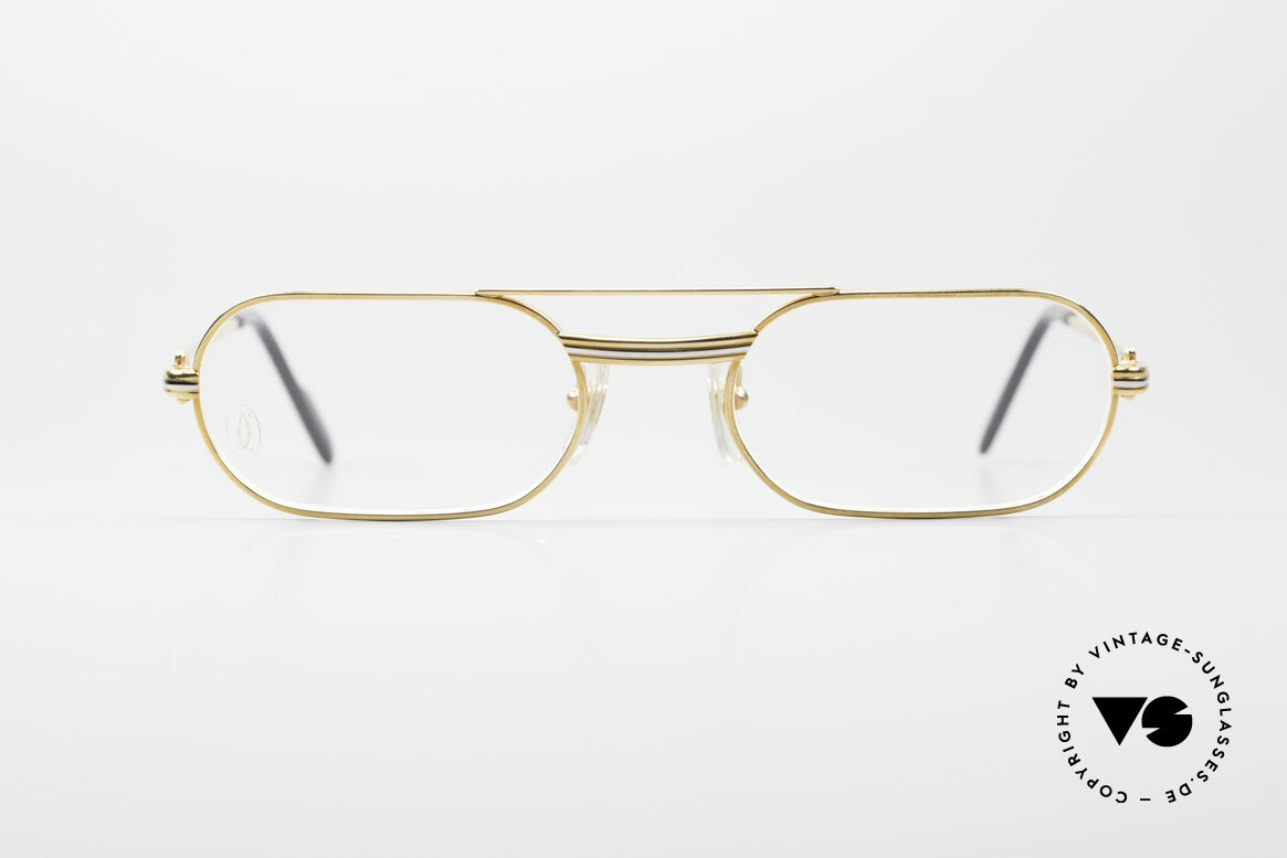 Cartier MUST LC Rose - M Limited Luxury Frame, MUST: the first model of the Lunettes Collection '83, Made for Men