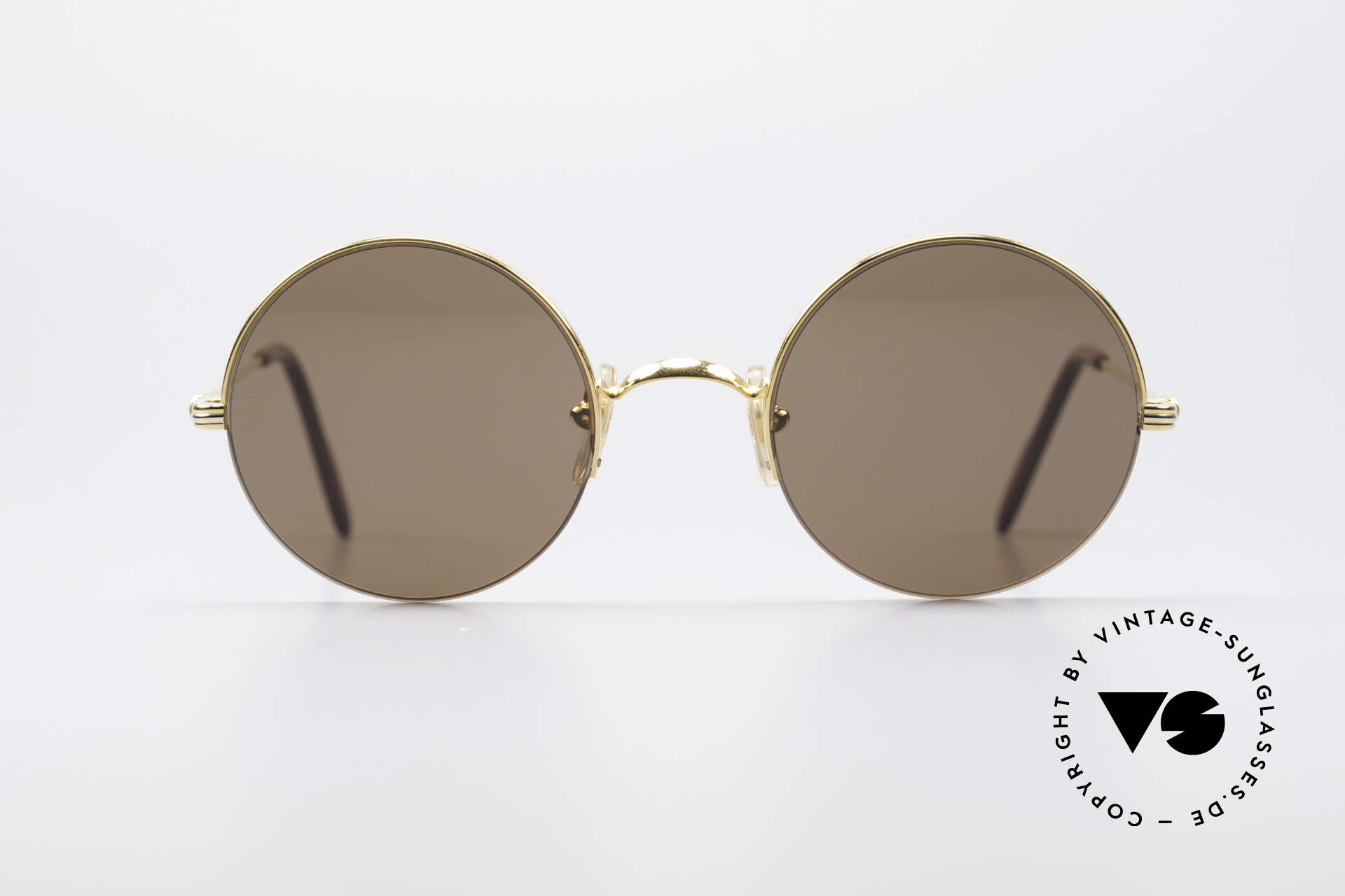 9fa580dc76 Sunglasses Cartier Mayfair Luxury Round Sunglasses