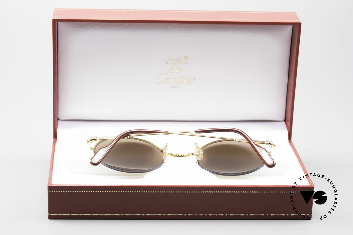 Cartier Mayfair - M Luxury Round Sunglasses