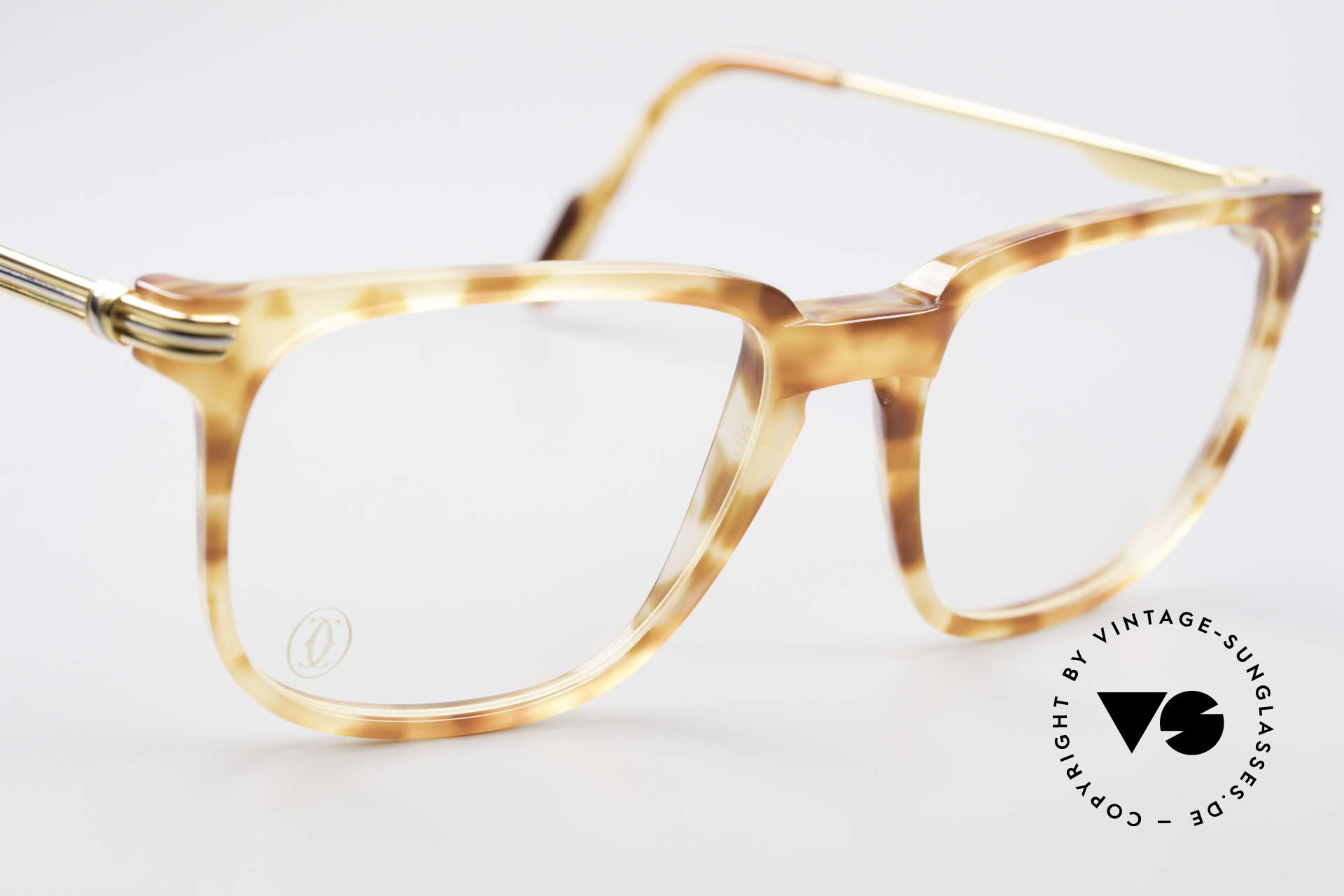 Cartier Reflet 90's Luxury Eyeglass-Frame, never worn (incl. orig. Cartier packing and paperwork), Made for Men and Women