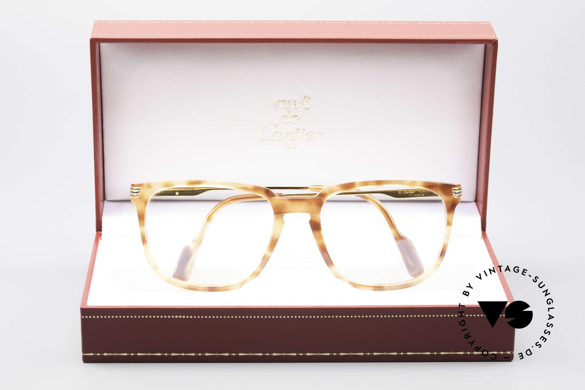 Cartier Reflet 90's Luxury Eyeglass-Frame, NO retro specs, but a rare old 90's original; true vintage, Made for Men and Women