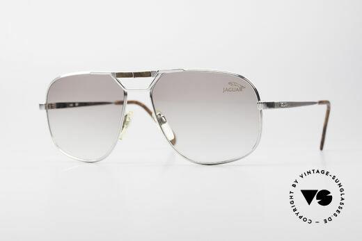 Jaguar 721 Rare Vintage Sunglasses Details