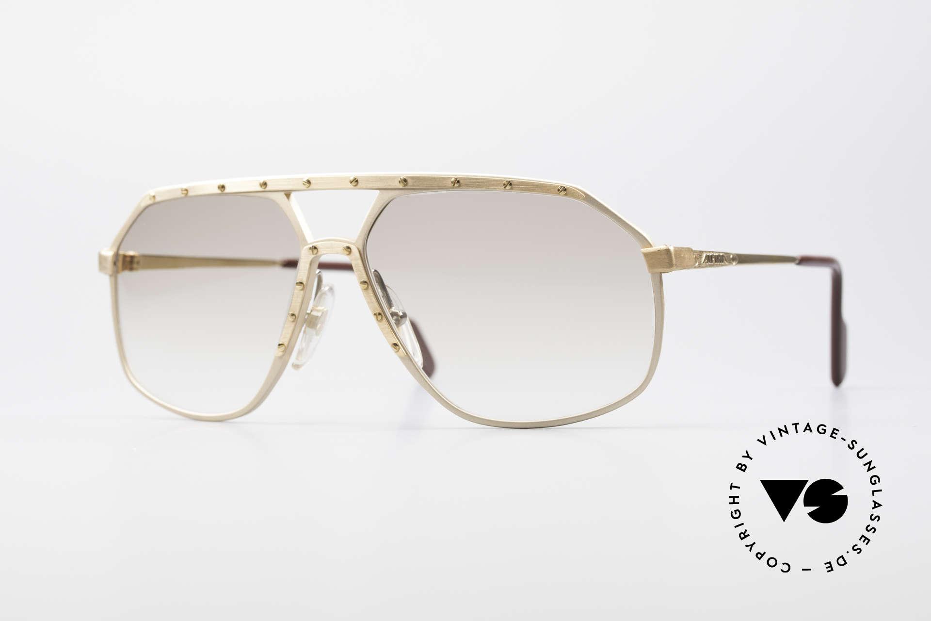 Alpina M6 Old 80's Shades True Vintage, legendary Alpina M6 vintage designer sunglasses, Made for Men