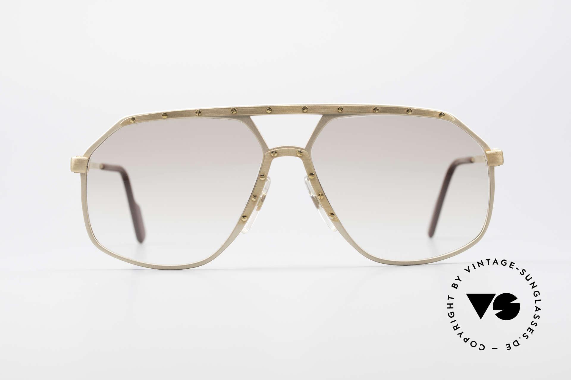 Alpina M6 Old 80's Shades True Vintage, a precious old 80's original in medium size 60-14, Made for Men