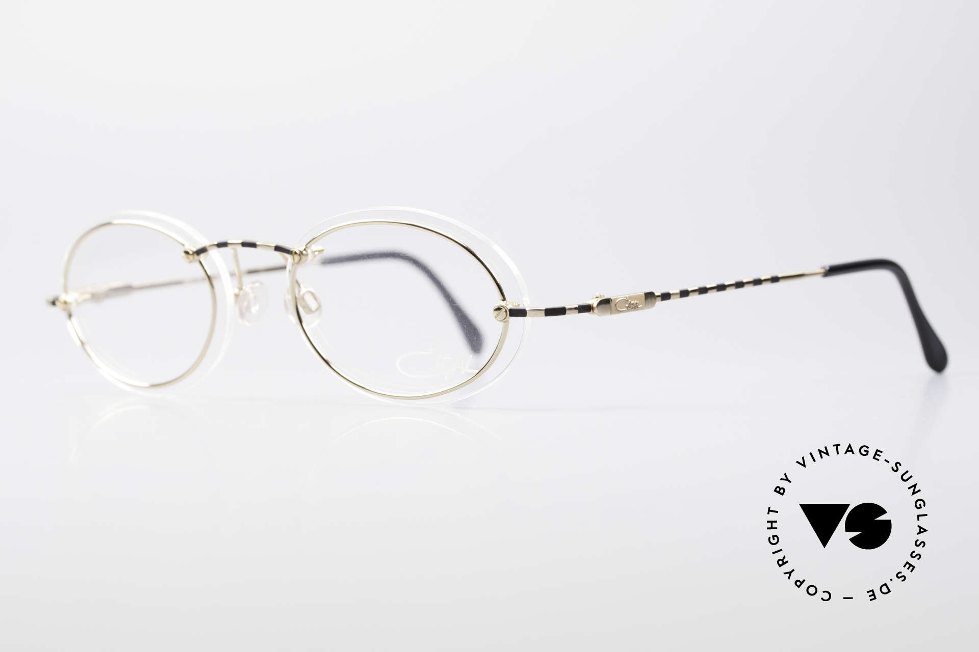 Cazal 770 90's Vintage Frame No Retro, minimalist at first glance; but truly sophisticated, Made for Men and Women