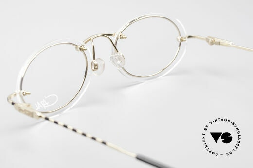 Cazal 770 90's Vintage Frame No Retro, oval demo lenses can be replaced with prescriptions, Made for Men and Women