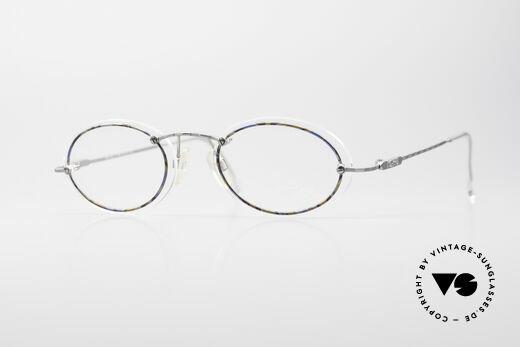 Cazal 770 Oval Vintage Frame No Retro Details