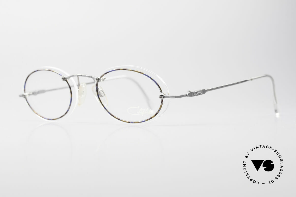 Cazal 770 Oval Vintage Frame No Retro, minimalist at first glance; but truly sophisticated, Made for Men and Women