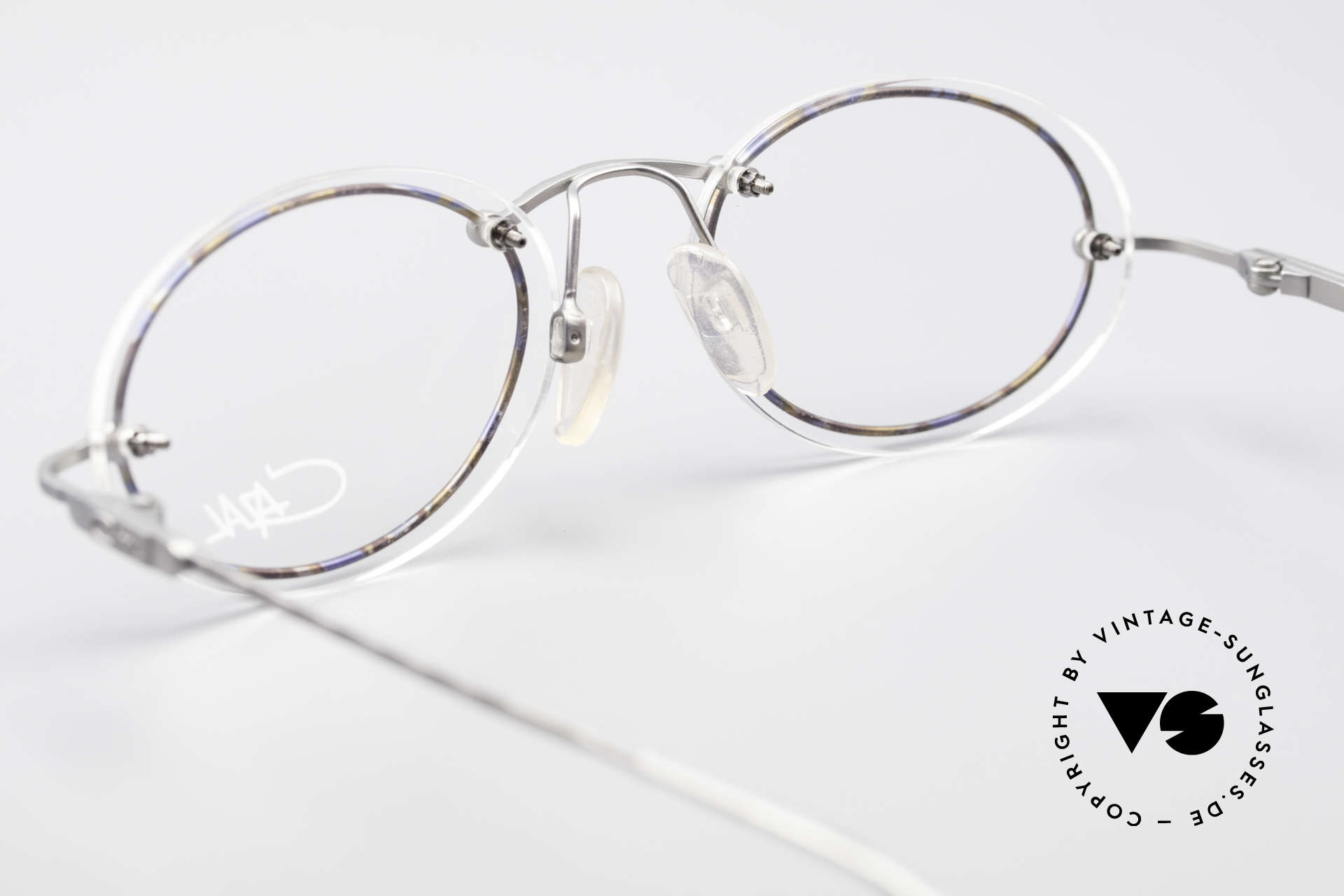 Cazal 770 Oval Vintage Frame No Retro, oval demo lenses can be replaced with prescriptions, Made for Men and Women
