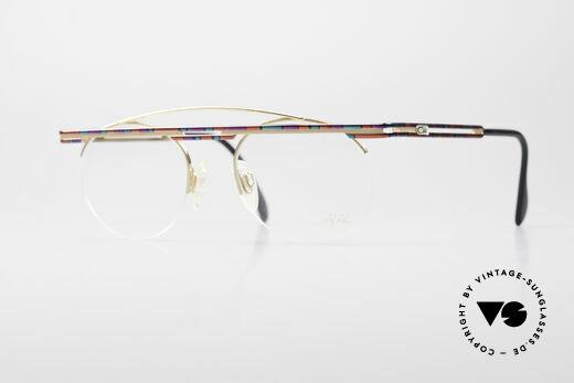 Cazal 748 True Vintage No Retro Glasses Details