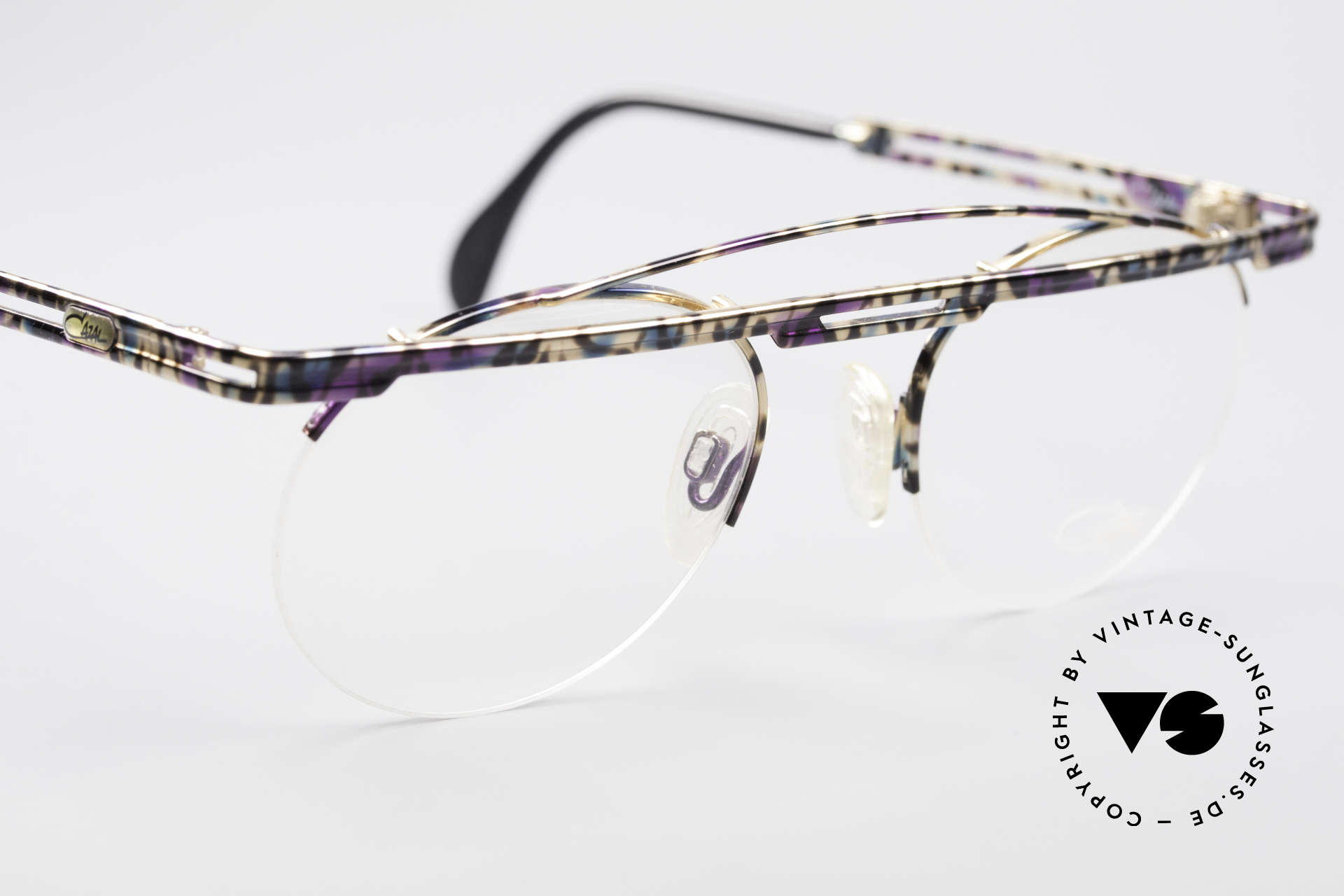 Cazal 748 Crazy Vintage No Retro Frame, tangible high-end craftsmanship (frame made in Germany), Made for Men and Women