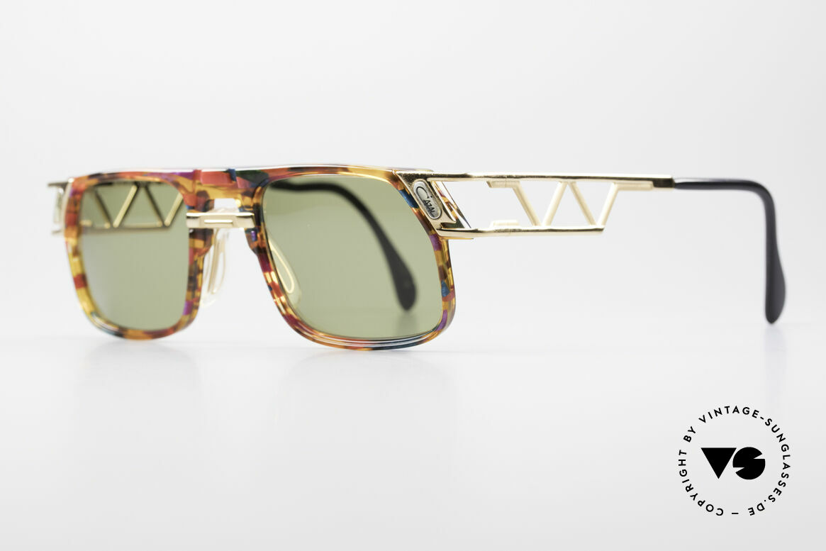 Cazal 876 90's Designer Vintage Shades, unique frame construction & multifaceted frame coloring, Made for Men and Women
