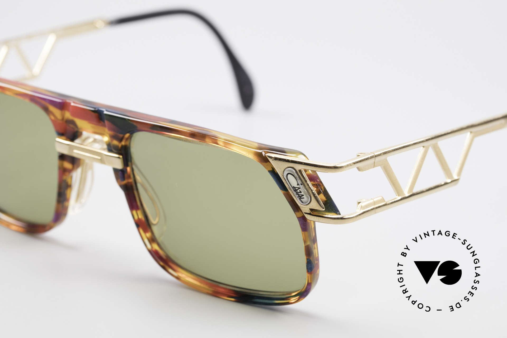Cazal 876 90's Designer Vintage Shades, orig. Cazal lenses with 'UV Protection' mark; true vintage, Made for Men and Women