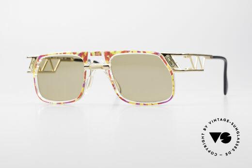 Cazal 876 90's Designer Vintage Frame Details