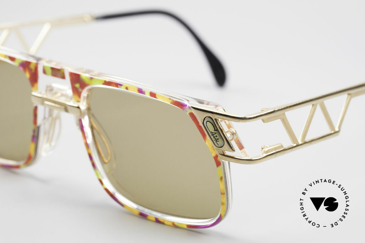 Cazal 876 90's Designer Vintage Frame, orig. Cazal lenses with 'UV Protection' mark; true vintage, Made for Men and Women