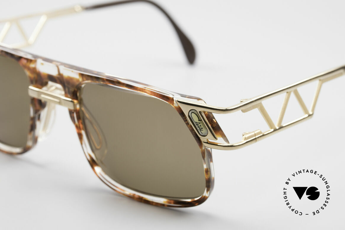 Cazal 876 True 90's No Retro Sunglasses, orig. Cazal lenses with 'UV Protection' mark; true vintage, Made for Men and Women