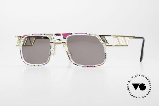 Cazal 876 True 90's No Retro Sunglasses Details