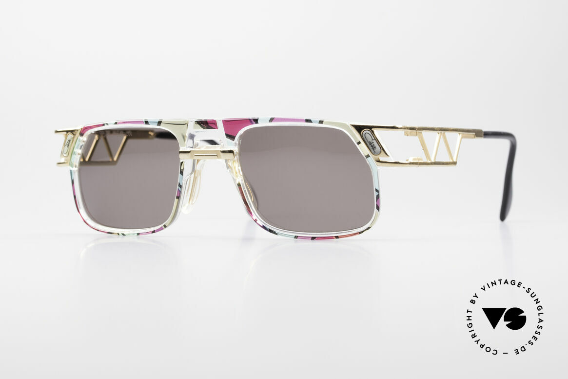 Cazal 876 True 90's No Retro Sunglasses, hip Cazal designer sunglasses of the early / mid 1990's, Made for Men and Women