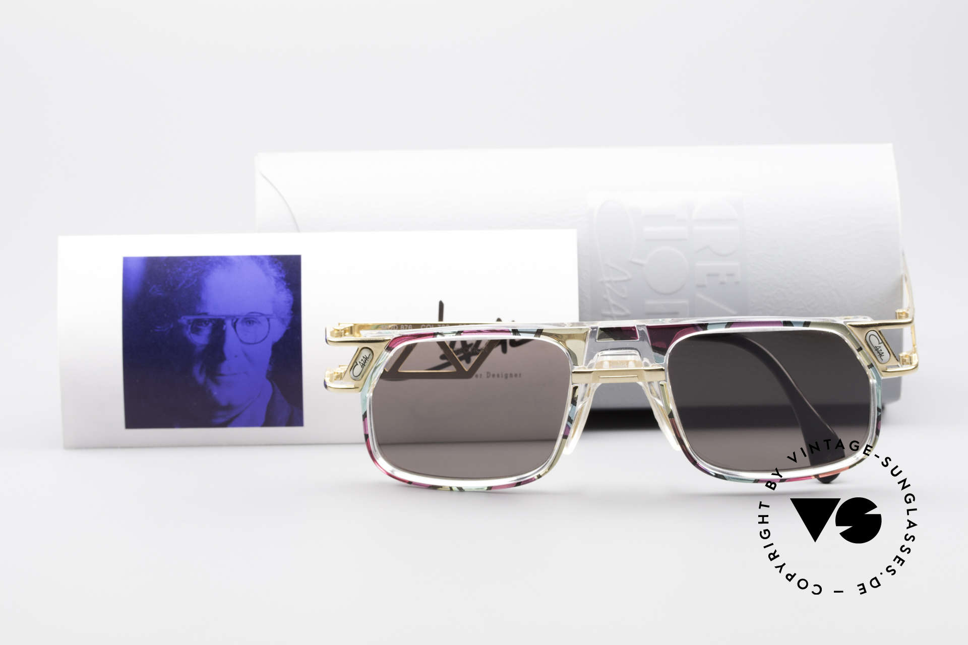 Cazal 876 True 90's No Retro Sunglasses, Size: large, Made for Men and Women