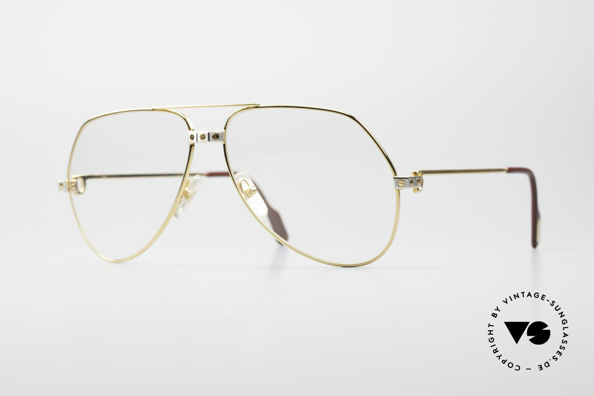Cartier Vendome Santos - L Changeable Cartier Lenses, Vendome = the most famous eyewear design by CARTIER, Made for Men