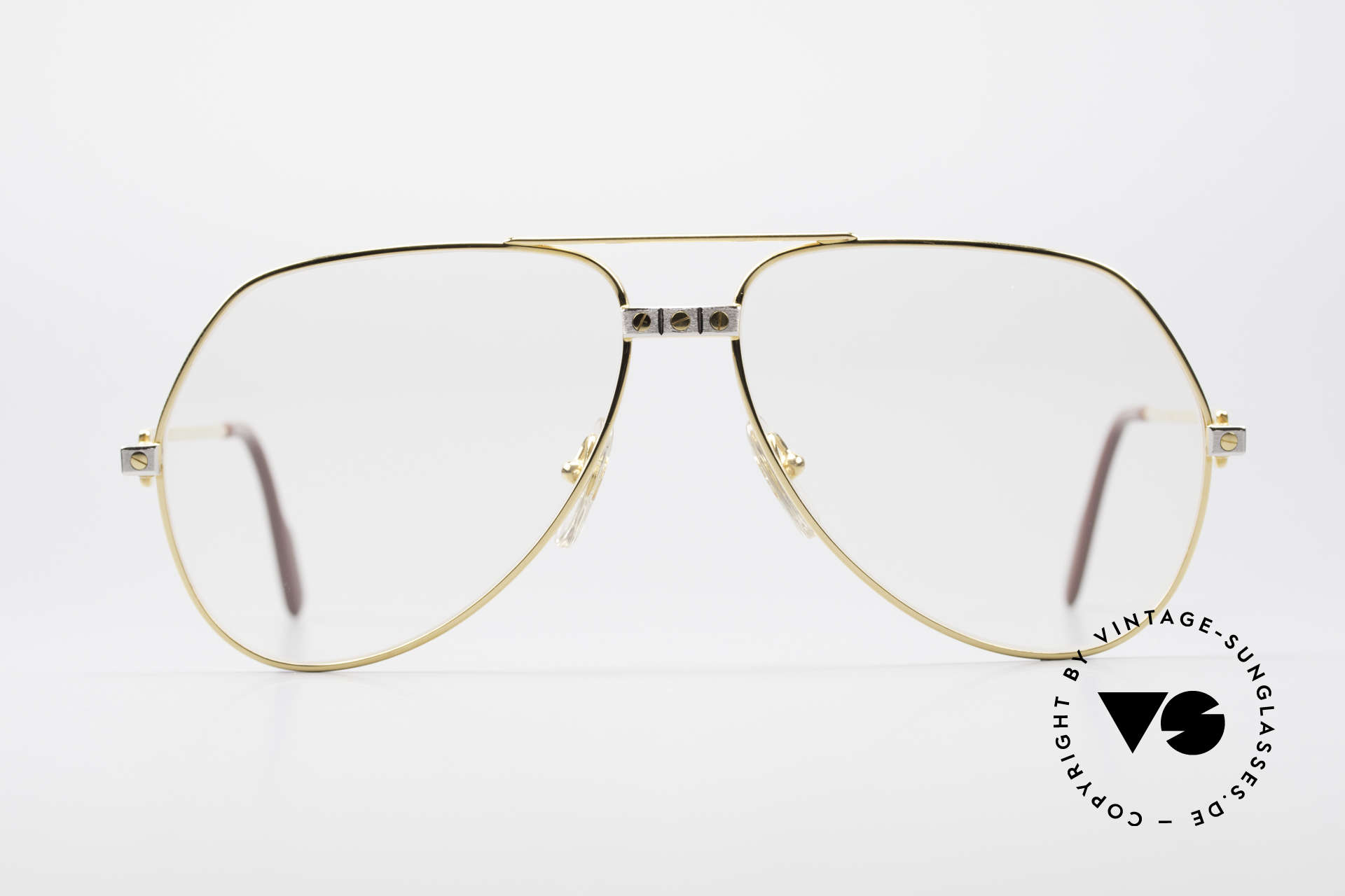 "Cartier Vendome Santos - L Changeable Cartier Lenses, mod. ""Vendome"" was launched in 1983 & made till 1997, Made for Men"