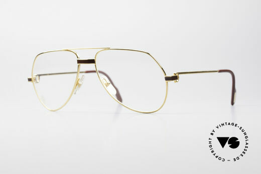Cartier Vendome Laque - S Luxury Eyeglass-Frame Details