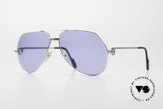 Cartier Vendome Santos - L Special Silver Edition Details