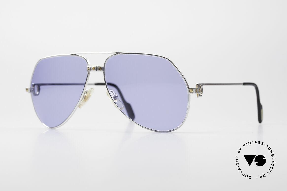 Cartier Vendome Santos - L Special Silver Edition
