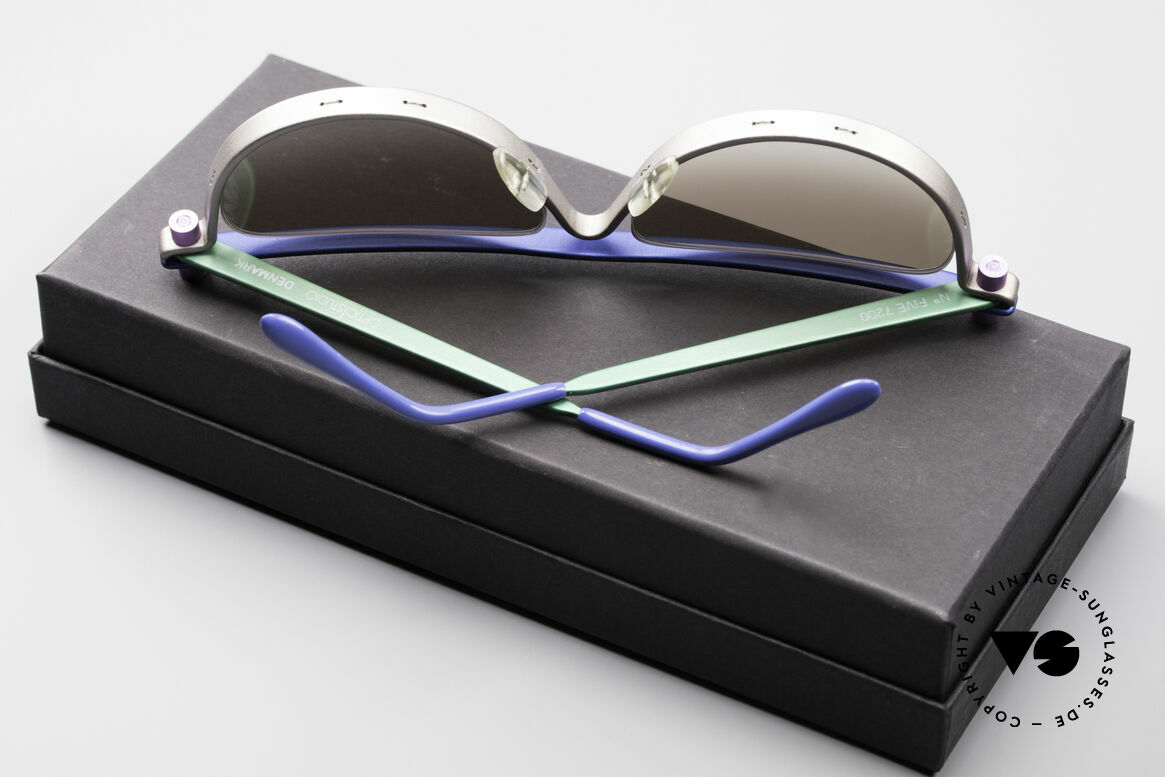 ProDesign No5 The Hunt For Red October, ultra RARE designer sunglasses from the mid 1990's, Made for Men and Women