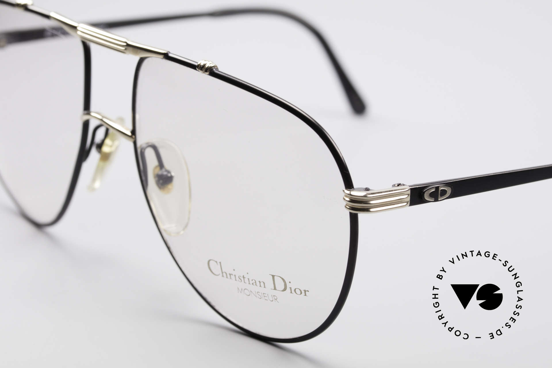 Christian Dior 2248 L 80's Dior Monsieur Frame, new old stock (like all our rare vintage C. Dior eyewear), Made for Men