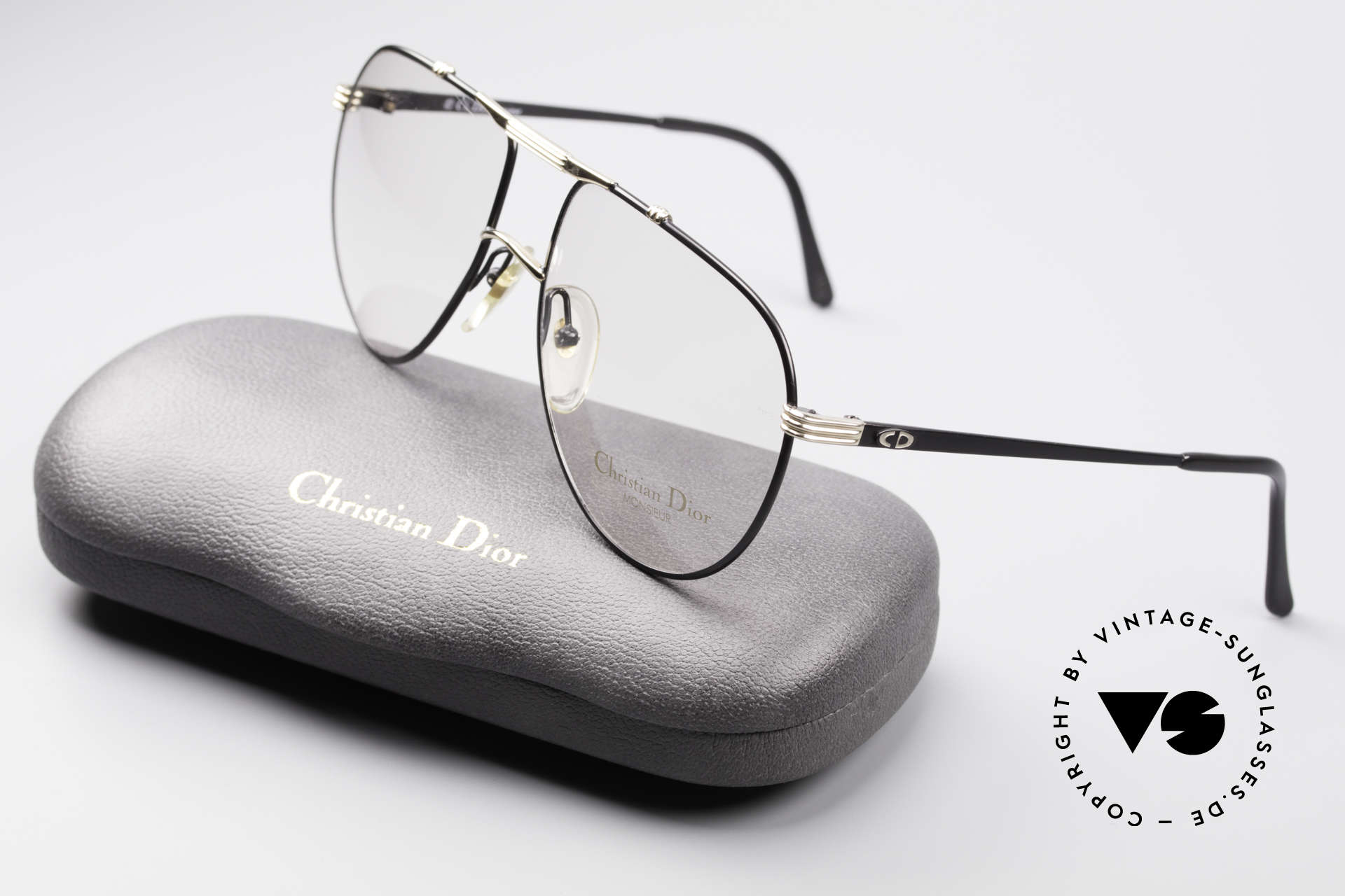 Christian Dior 2248 L 80's Dior Monsieur Frame, demo lenses should be replaced with optical / sun lenses, Made for Men