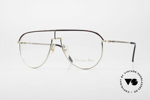 Christian Dior 2582 80's Vintage Men's Frame Details