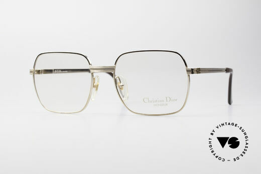 5f67f9a02bb Christian Dior 2389 Gold-Plated Monsieur Frame Details