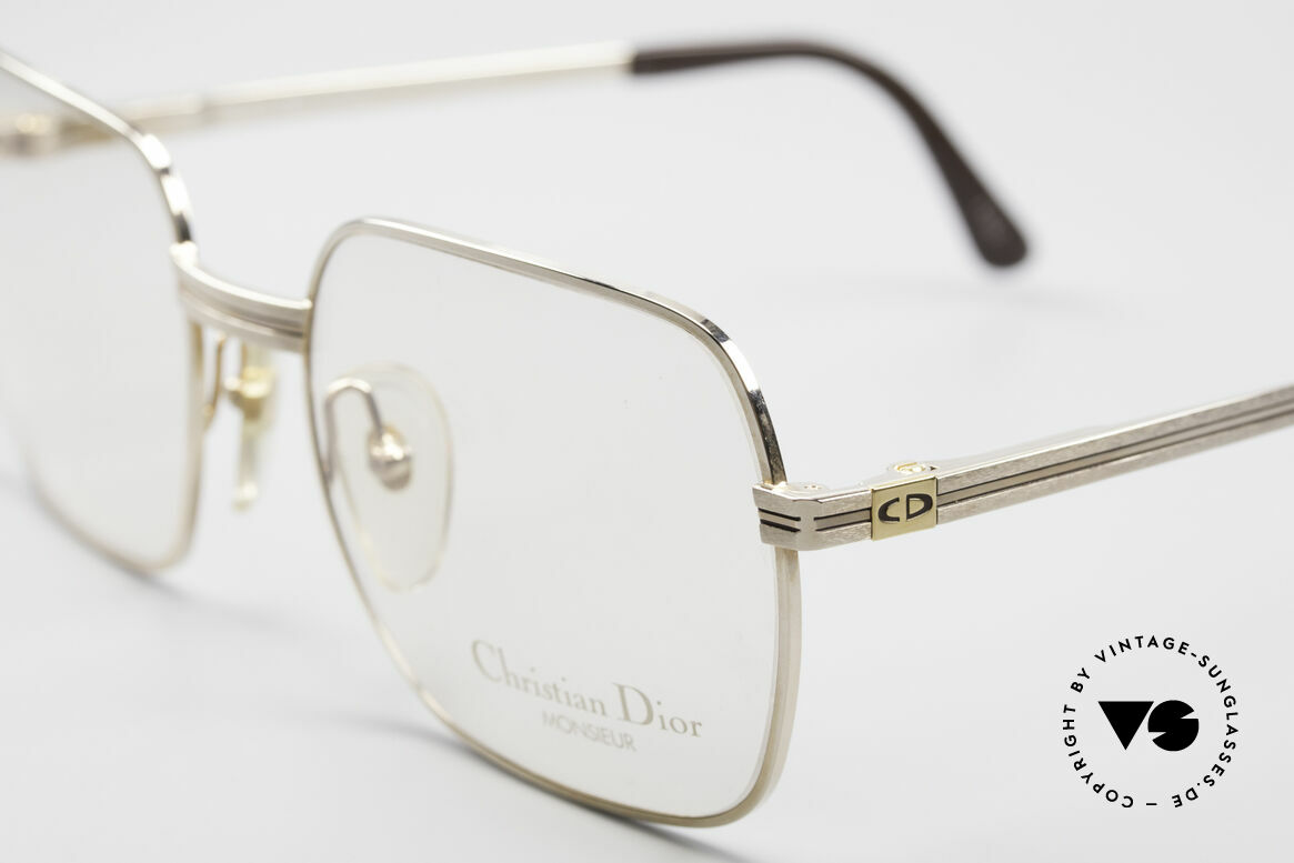 Christian Dior 2389 Gold-Plated Monsieur Frame, new old stock (like all our vintage 80's Dior Monsieur!), Made for Men