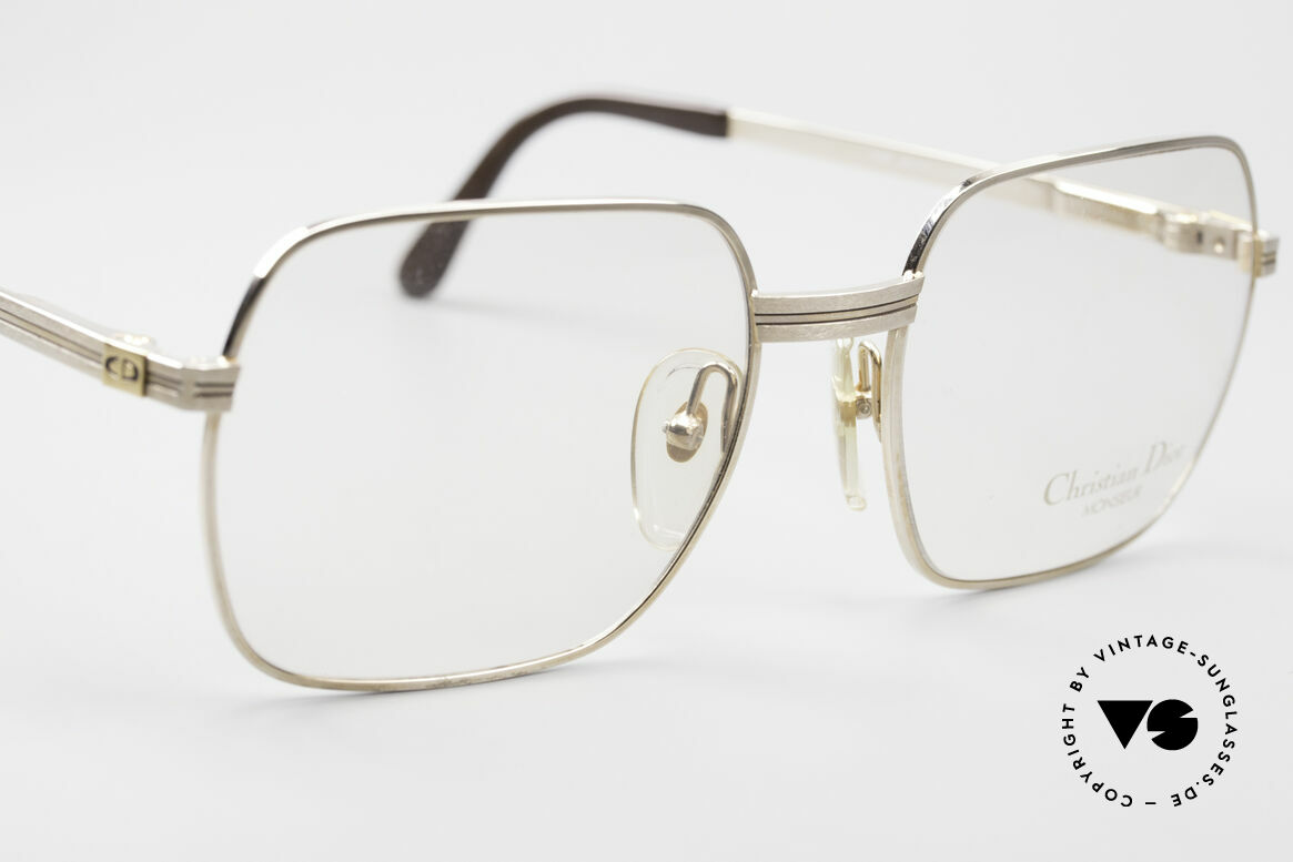 Christian Dior 2389 Gold-Plated Monsieur Frame, NO retro glasses, but a precious old original from 1988, Made for Men