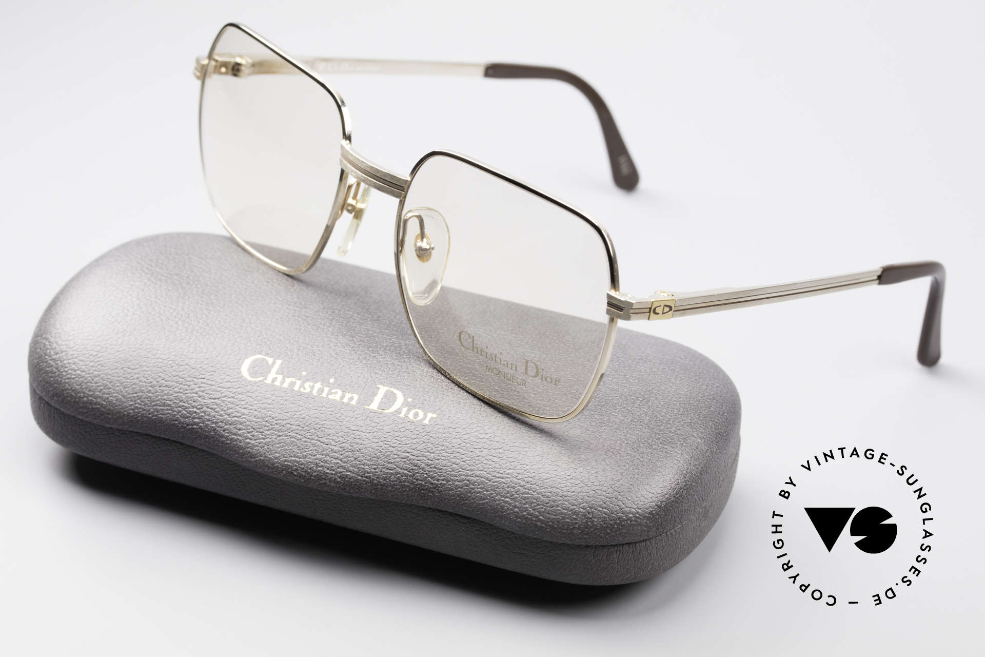 Christian Dior 2389 Gold-Plated Monsieur Frame, frame can be glazed with optical / sun lenses optionally, Made for Men